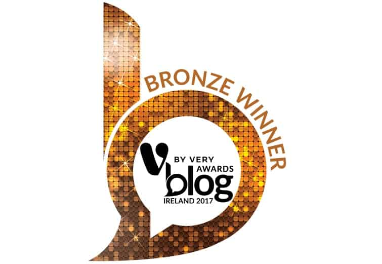 2017 by Very Blog Awards Ireland